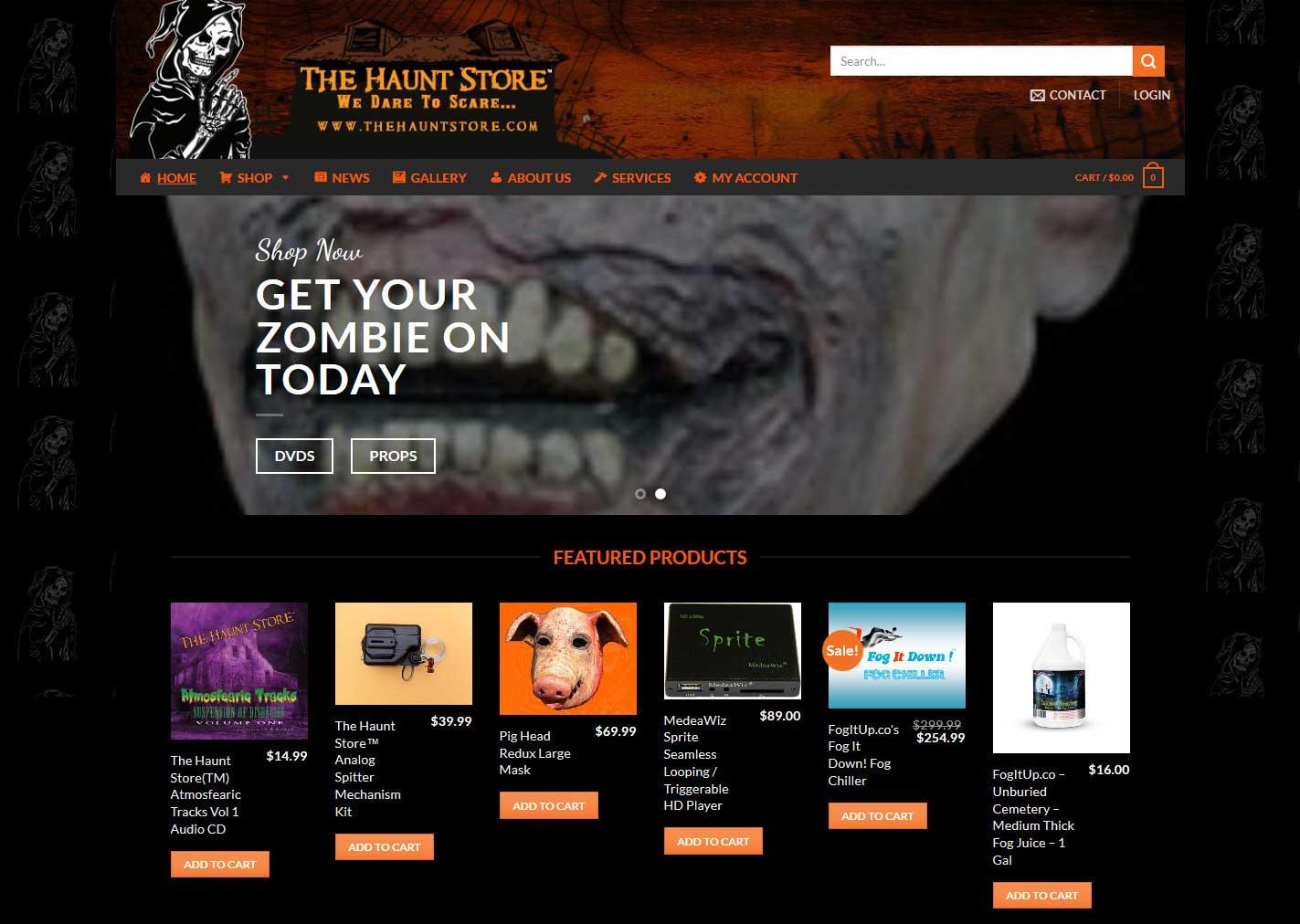 Hauntstore-webshot